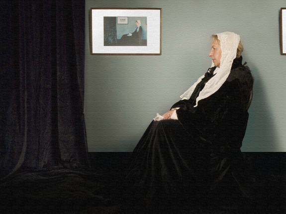 Whistler's Mother, Halloween Costume