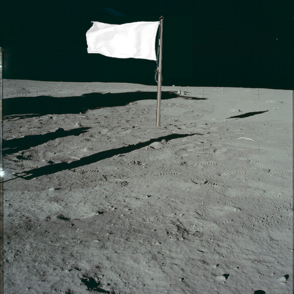 faded flags on the moon daily planet air space magazine