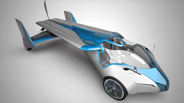 A New Car Proves It Can Fly Barely Innovation
