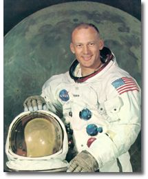 Astronaut Buzz Aldrin (source: NASA)