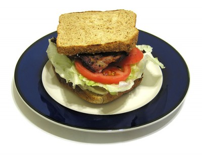 BLT sandwich, courtesy Flickr user Amagill