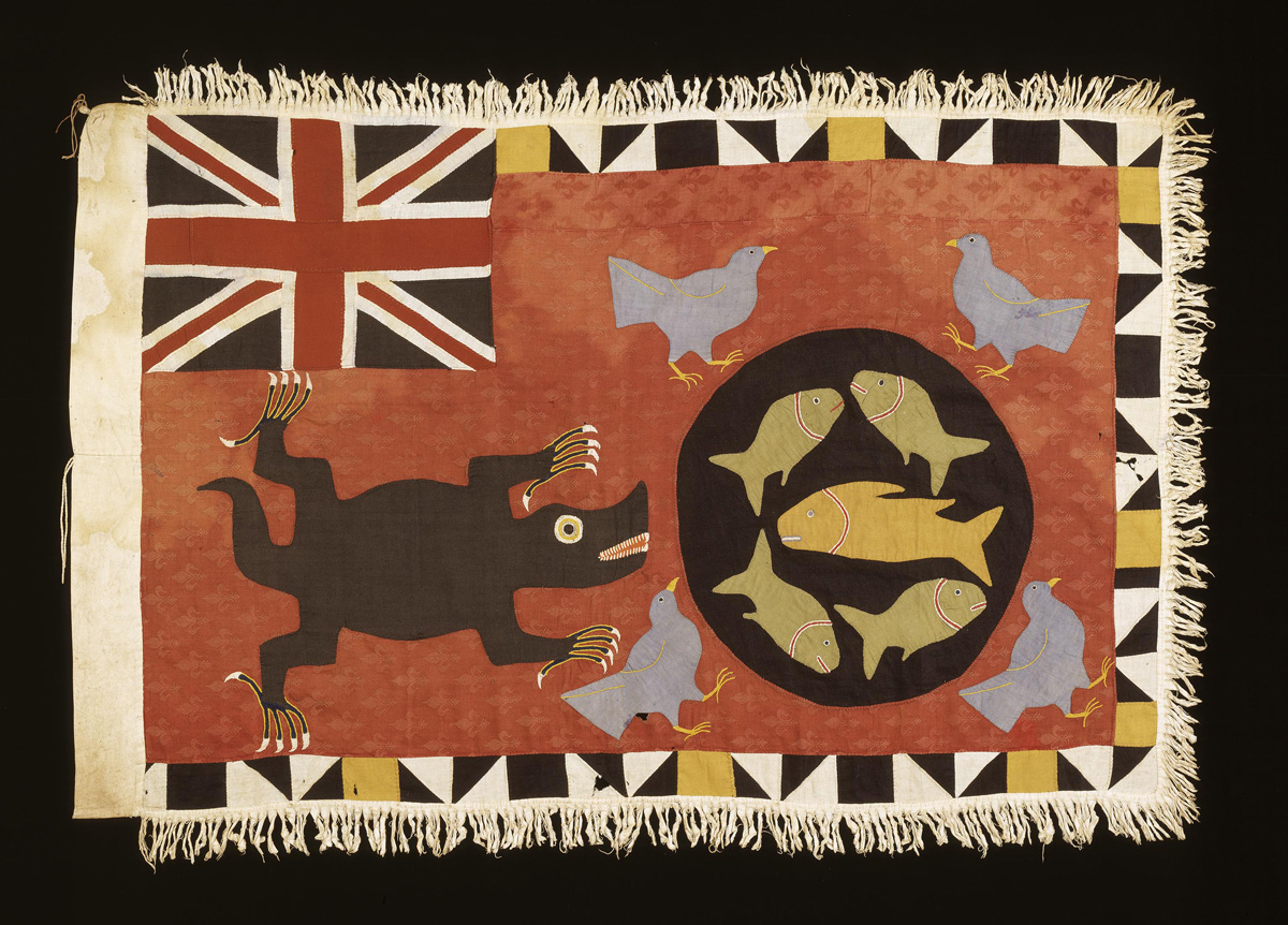 "This Afaso Flag is 1 of 125 objects on display at the ""Artful Animals"" exhibit. (Photo by Franko Khoury, Courtesy of African Art Museum.) Click above for additional photos gallery of artworks on exhibit."