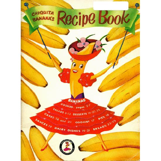 chiquita banana recipe book