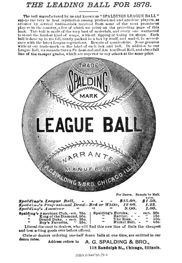 spalding baseball