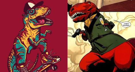 Best/Worst dressed dinosaurs, courtesy of io9
