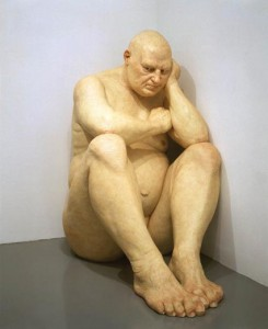 Ron Mueck's Big Man
