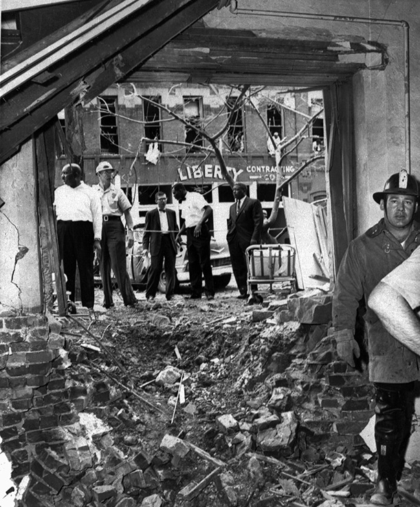 a history of the ku klux klans bombing of the black war street The history of the 1963 16th street baptist church bombing members of the ku klux klan called in bomb threats.