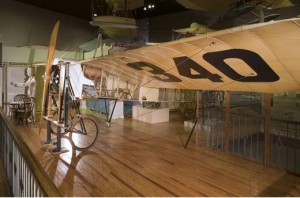The Bleriot XI, courtesy of the National Air and Space Museum