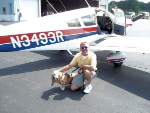 Pilot Nick O'Connell and Kroozer.