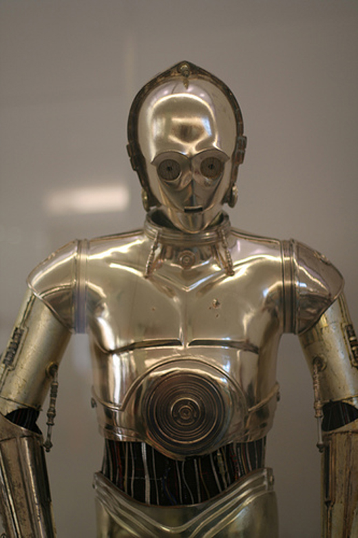 Celebrate the unofficial Star Wars holiday with a visit to C-3PO at the American History Museum. Photo by Flickr user Joeks.
