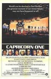 Little-known fact: Capricorn One actually was filmed on a NASA sound stage on the moon.