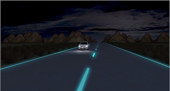This Road Glows In The Dark Smart News Smithsonian