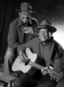 The late Blues legend John Cephas, seated, will be honored at a ceremony on Sunday.