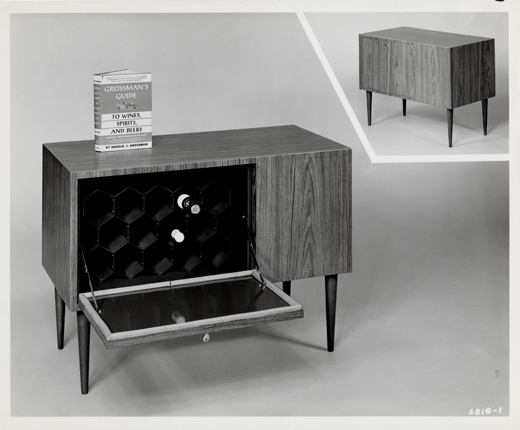 "Sachs' invented the early ""modern wine cellar,"" a compact storage cabinet that kept wines cool."