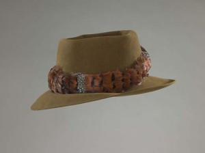 Chuck Mangione donated his signature hat to the Smithsonian today