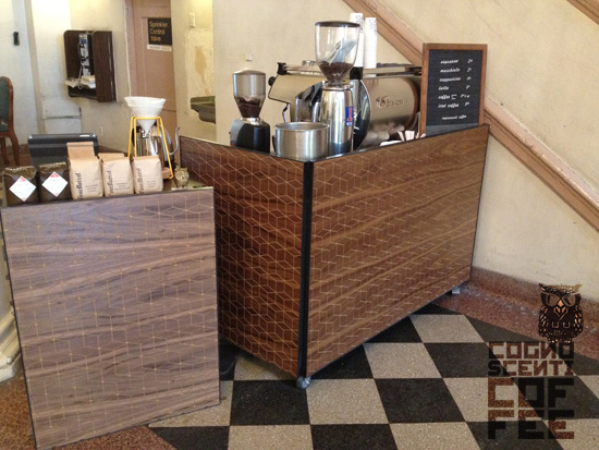 Cognoscenti Coffee pop-up