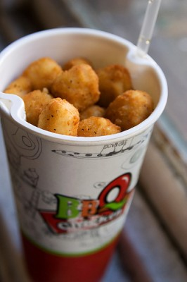 The Col-Pop container combines a cup of soda with a chicken nugget container. Courtesy of Flickr user Roboppy