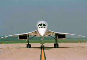 This Concorde is now in the National Air and Space Museum.