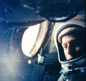 Pete Conrad (shown during his Gemini 5 flight) was an advocate of taking the two-man ship to the moon.