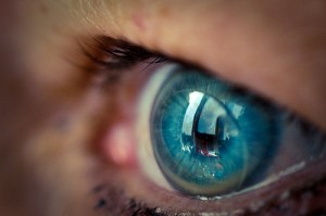 Science is getting closer to using contact lenses to display information (courtesy of flickr user nikozz)