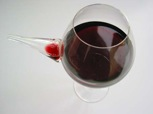 A hybrid wine glass/pitcher designed by Martin Azua and Gerard Moline