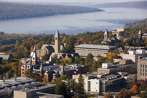 The Cornell campus (Cornell University Photography)