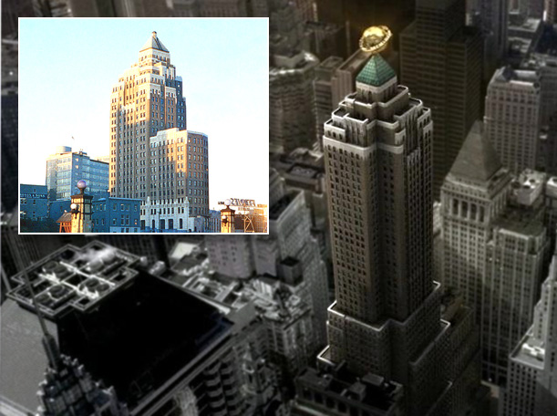 Daily Planet Building Superman Returns