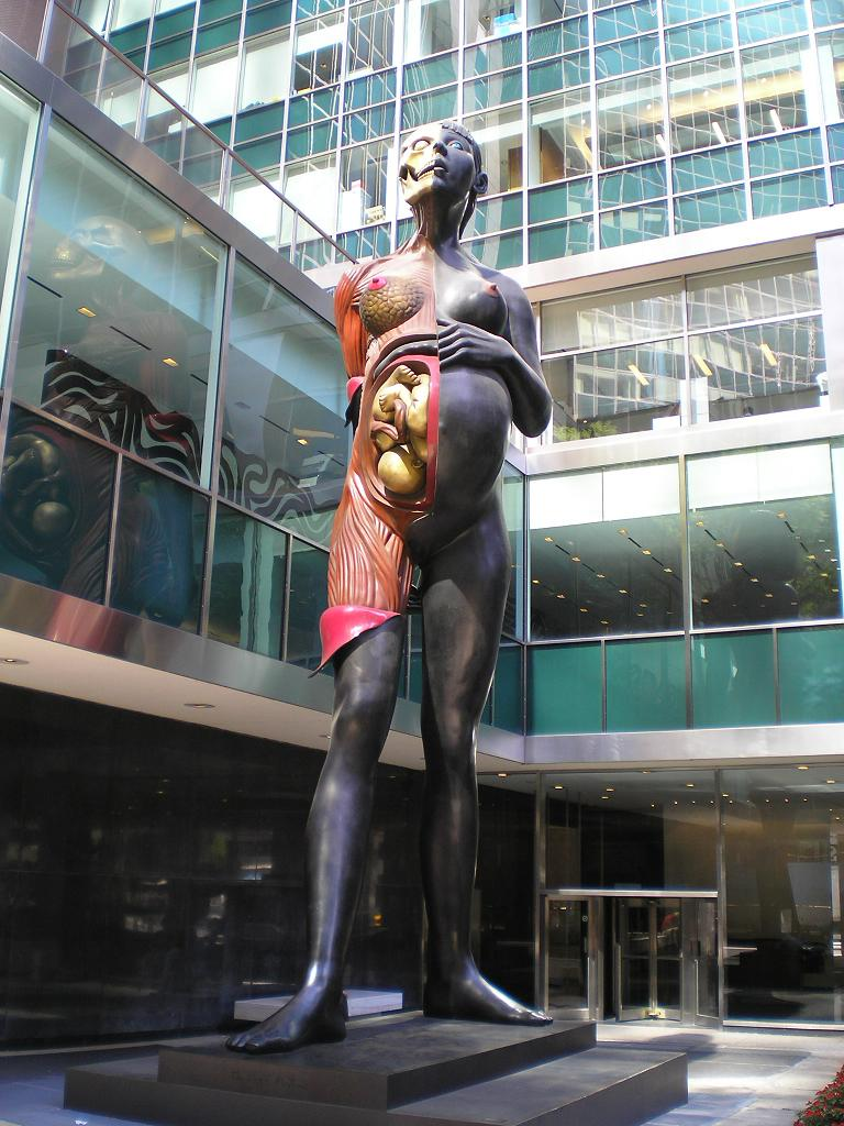 Damien Hirst's Virgin Mother