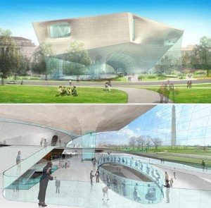 Concept design submitted by submitted by Diller Scofidio + Renfro in association with Kling Stubbins.