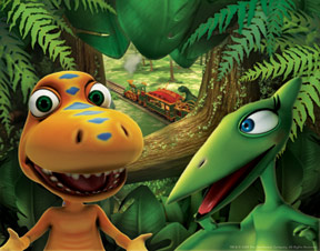 A sneak peek at what Dinosaur Train will look like. From Playthings.com