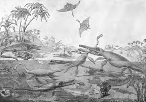Duria Antiquior -- Early Dinosaur Drawing
