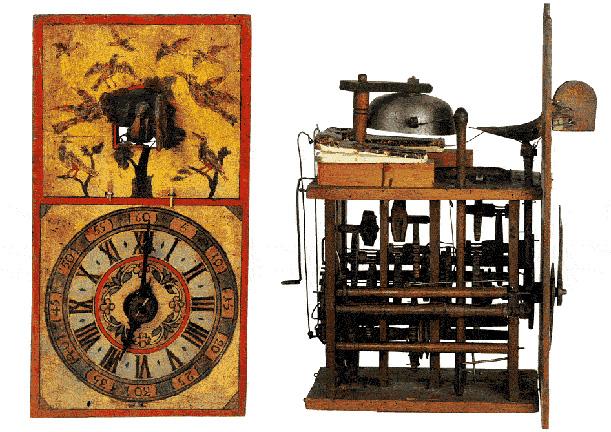 early cuckoo clock