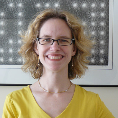 Ellen Lupton, contemporary design curator at the Cooper-Hewitt National Design Museum in New York, co-edits Design-Your-Life.org with her identical twin sister Julia. (Courtesy of Ms. Lupton.)