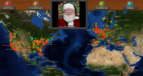 See where santas turning up all over the world smart news we gumiabroncs Image collections