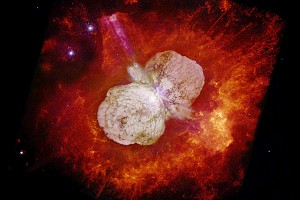 Hubble view of Eta Carinae (N. Smith, J. A. Morse (U. Colorado) et al., NASA)