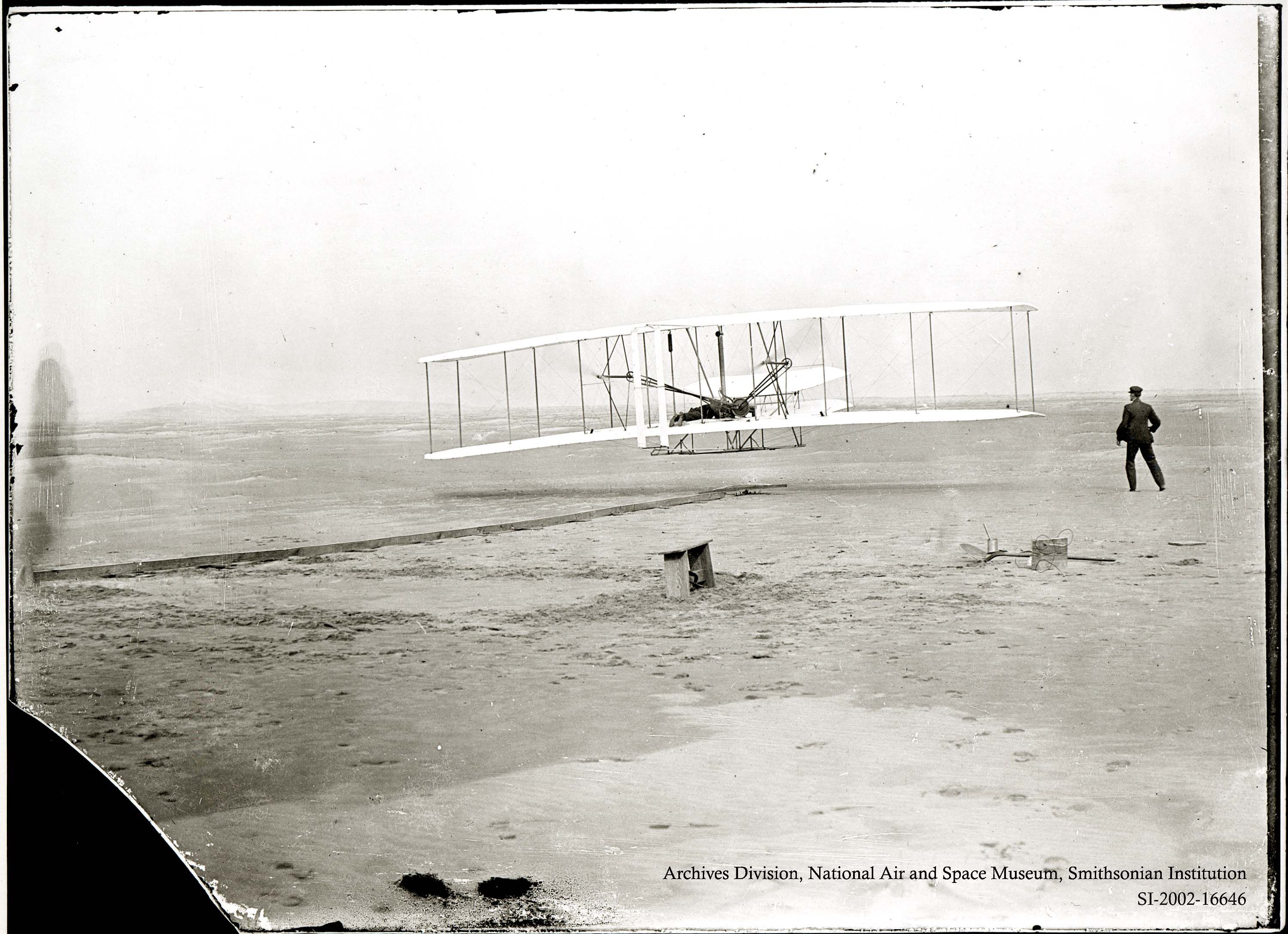 Wright Brothers Flight in air and space curator: the wright brothers were most definitely