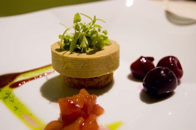 Torchon of foie gras, courtesy Flickr user Ulterior Epicure
