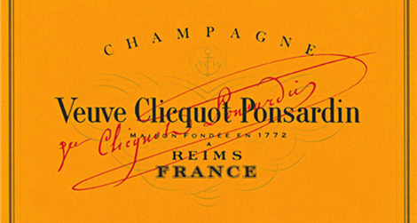Veuve Clicquot label