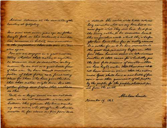 analysis essay of lincolns gettysburg address Gettysburg address essays the gettysburg address is one of the most celebrated speeches ever written the author of this document was the 16th abraham lincoln.