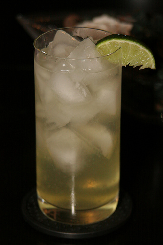 The classic gin rickey. Image courtesy of Flickr user teamperks.
