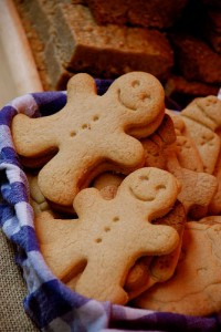 Gingerbread men, courtesy of Flickr user  Gaetan Lee