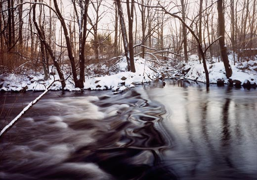 Chemical Brook enters the Sudbury River, Ashland, Massachusetts, by Frank Gohlke, at Smithsonian American Art Museum
