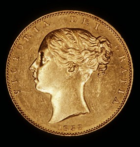 171 years ago today, James Smithson's legacy in the form of gold sovereigns, was transferred to the treasurer of the United States Mint in Philadelphia. Photo courtesy of the Smithsonian Archives