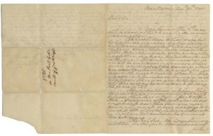 George Washington Letter, 1785, National Museum of American History