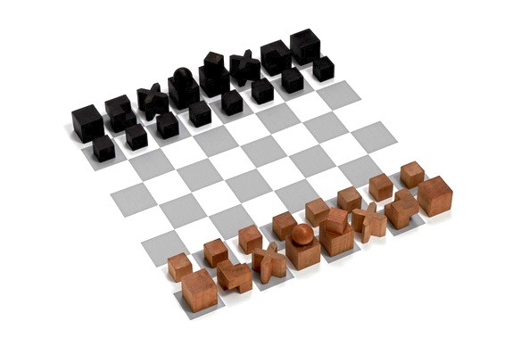 When modern art met the classic chess set arts culture smithsonian - Simple chess set ...
