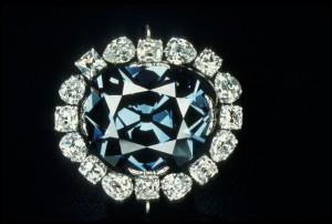 The Hope Diamond will soon be stepping out in a brand new setting. Photograph courtesy of the National Museum of Natural History.