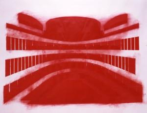 "Guillermo Kuitca, ""Mozart-Da Ponte I"" (1995)/ Hirshhorn Museum, SI"