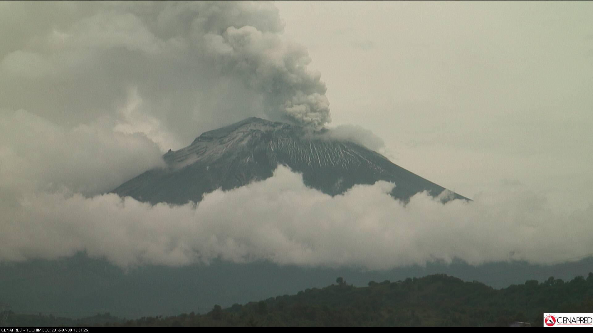 last volcanic eruption