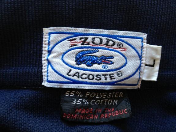 izod lacoste alligator clothing company