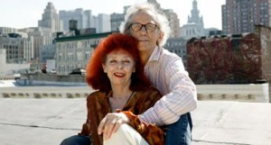 Installation artists Christo and Jeanne-Claude. Photo courtesy of Wolfgang Volz/LAIF/Redux